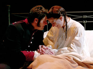 Adam Brazier and Ana Gasteyer in Passion