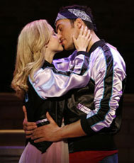 Kerry Butler and Cheyenne Jacksonin Xanadu