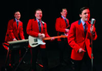 The London cast of Jersey Boys