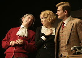 Arnie Burton, Jennifer Ferrin, and Charles Edwards