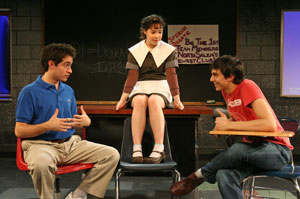 Jason Fuchs, Sarah Steele, and Gideon Glick