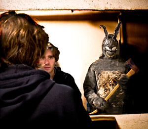 Dan McCabe and Perry Jackson in Donnie Darko