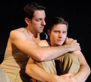 Maxime de Toledo and Bobby Steggert in Yank!