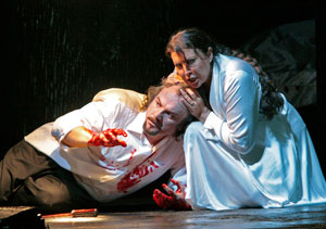 Zeljko Lucic and Maria Guleghina in Macbeth