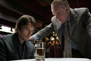 Ethan Hawke and Philip Seymour Hoffman