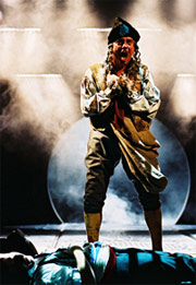 Gary Beach in Les Misérables
