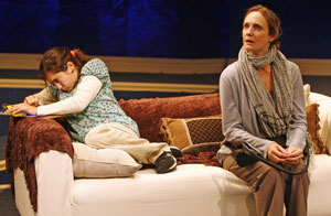 Lucy DeVito and Lisa Emery in Lucy