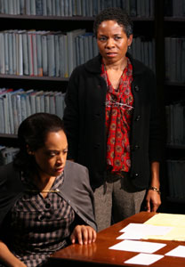 Cherise Boothe and LisaGay Hamilton