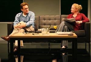 Bill Pullman and Johanna Day in Peter and Jerry (© Joan Marcus)