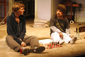 Paul Dano and Peter Dinklage in Things We Want