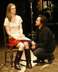 Marin Ireland and Rob Campbell in Bad Jazz