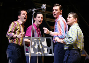 Steve Gouveia, Christopher Kale Jones, Erich Bergen,