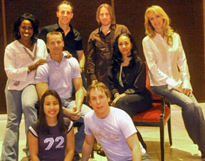The cast of Infinite Joy -- The Songs of William Finn