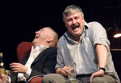Jim Norton and Conleth Hill in The Seafarer