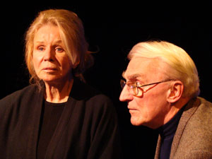 Salome Jens and Gil Rogers in I Knock at the Door