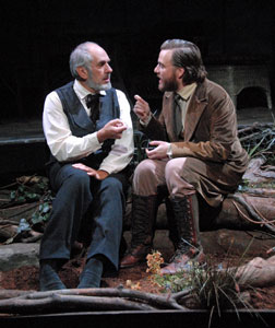 Michael Cristofer and Manoel Felciano