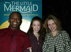 Tituss Burgess, Sierra Boggess, and Renee Fleming