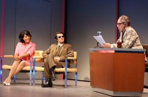 de'Adre Aziza, Michael Crane, and David Chandler