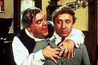 Zero Mostel and Gene Wilder inthe film version of The Producers