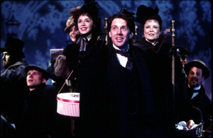 Cleale and cast in another scene from the show(Photo: Joan Marcus)