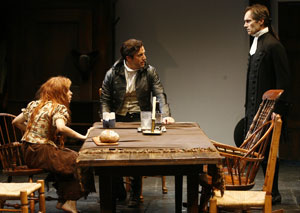 Cristin Milioti, Lorenzo Pisoni, and Robert Sedgwick