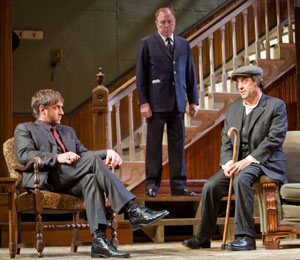 Raul Esparza, Michael McKean, and Ian McShane