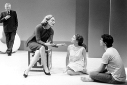 Brian Murray, Marian Seldes, Kathleen Early,and David Burtka in The Play About the Baby(Photo: Carol Rosegg)