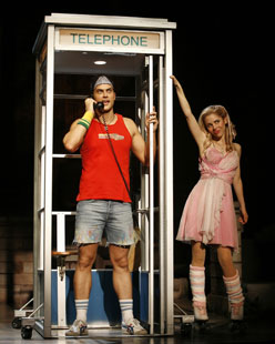 Cheyenne Jackson and Kerry Butlerin Xanadu