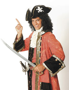 David Wannen in The Pirates of Penzance