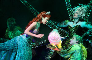 Derrick Baskin, Sierra Boggess, Sherie Rene Scott,