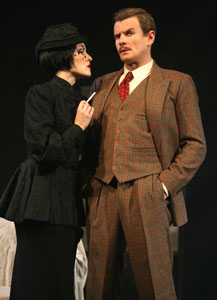Jennifer Ferrin and Charles Edwards
