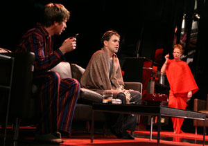 Stephen Barker Turner, Matt McGrath, and Johanna Day