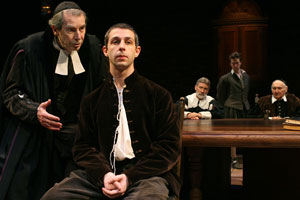 Richard Easton, Jeremy Strong, David Garrison,