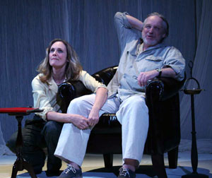 Lisa Emery and Terry Layman in The Maddening Truth (© Theresa Squire)