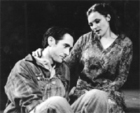 Michael Mendiola and Bridget Beirne in Floyd Collins
