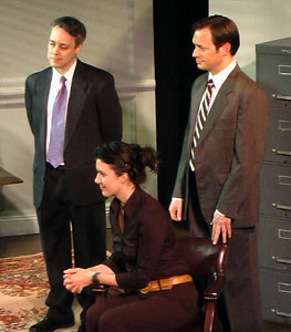 Richard Brundage, Tara Gadomski and Todd Reichart