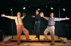 John Deyle, Burke Moses, and Martin Vidnovic