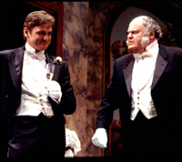 Daniel McDonald and George S. Irvingin An Ideal Husband(Photo: Jerry Dalia)