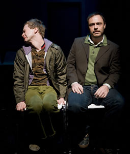 Clifton Guterman and Brandon Miller in Deathbed