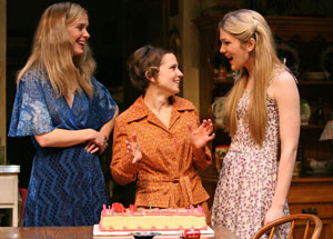 Sarah Paulson, Jennifer Dundas, and Lily Rabe