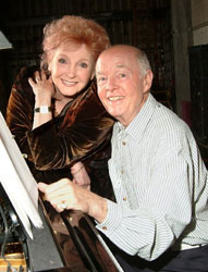 Millicent Martin and Ray Cooney