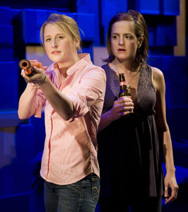 Mamie Gummer and Keira Naughton