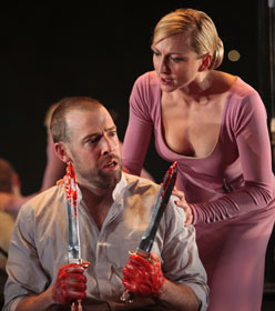 Ian M. Peakes and Kate E. Norris in Macbeth