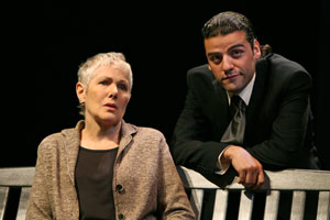 Lynn Redgrave and Oscar Isaac in Grace