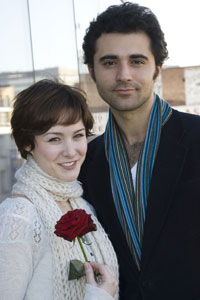 Jill Paice and Darius Danesh