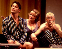 Dominic West, Jennifer Ehle,and Alan Cumming in Design For Living(Photo: Joan Marcus)