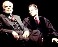 Maximilian Schell and Michael Haydenin Judgment at Nuremberg(Photo: Joan Marcus)