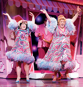 Leanne Jones and Michael Ball in Hairspray