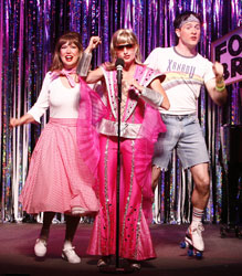 Valerie Fagan, Janet Dickinson, and