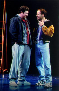 John Ellison Conlee and Patrick Wilsonin The Full Monty(Photo: Craig Schwartz)